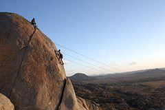 Rock Climbing Photo: High above it all at Nuevo, Riverside County