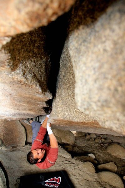 Rock Climbing Photo: Big Bobs Big Wedge, Joshua Tree National Park