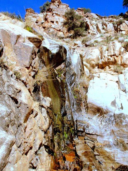 Waterfall about 30 minutes up Molino Creek