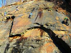 Rock Climbing Photo: Super Slab Sector