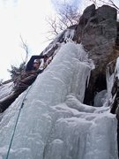 Rock Climbing Photo: Me on Blue Ribbon.