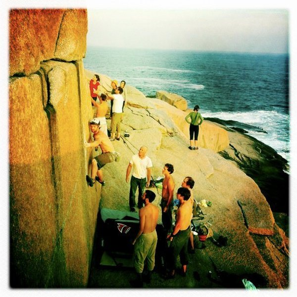 Rock Climbing Photo: Dover Island-sweet!