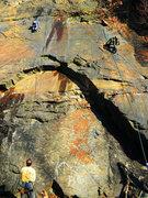 Rock Climbing Photo: Slab Master!