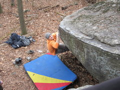 Rock Climbing Photo: Knead It. V3. Governor Stable