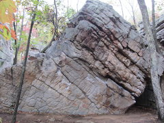 Rock Climbing Photo: Brian's Brain starts standing near the middle of t...