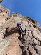 Rock Climbing Photo: This is where it starts to get interesting.  Some ...