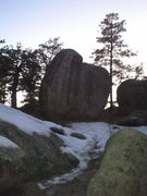 Rock Climbing Photo: Great sending temps