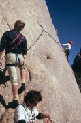 Rock Climbing Photo: First Ascent of What's My Line