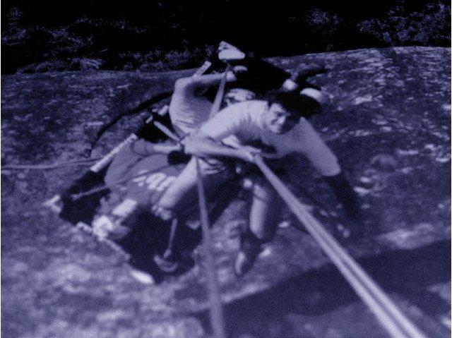 Rock Climbing Photo: PORTALEDGE.XTY.CLIMB.ANCORS