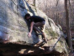 "Rock Climbing Photo: ""Space Invaders"", Cascades, VA"