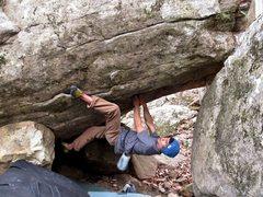 Rock Climbing Photo: Threat Level Midnight