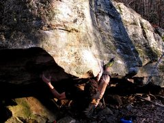 Rock Climbing Photo: The start to Inglorious, Cascades, VA