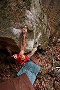 Rock Climbing Photo: Inglorious, Cascades, VA