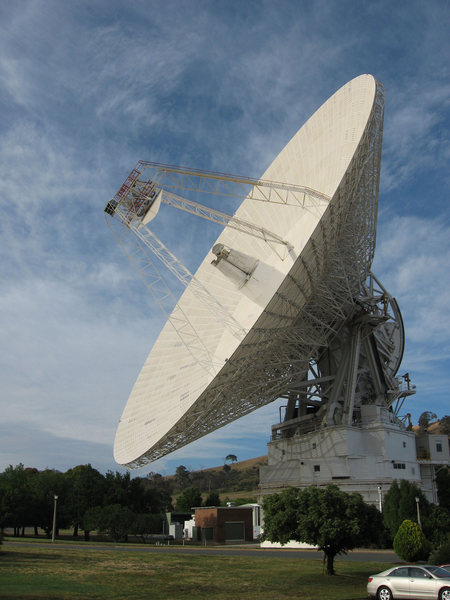 Rock Climbing Photo: 70m deep space antenna at Tidbinbilla aka Canberra...