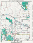 Rock Climbing Photo: MAP 1:  A Region Surrounding the SE Quadrant of Wy...