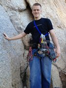 Rock Climbing Photo: I had a full set of hexes, nuts and 4 BD Camalots ...