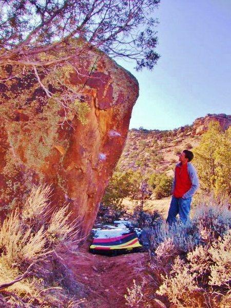 Rock Climbing Photo: Relay Boulder.