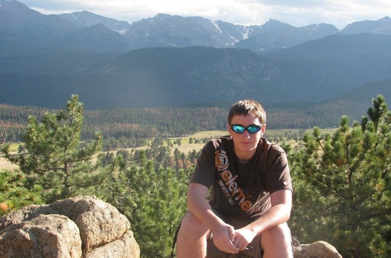 Me in RMNP during the summer