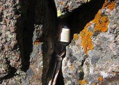 Rock Climbing Photo: bonus anchor