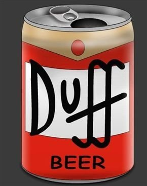 Rock Climbing Photo: duff beer