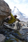 Rock Climbing Photo: Zermatt