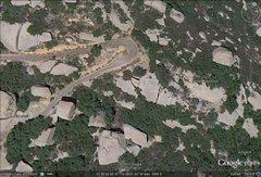 Rock Climbing Photo: google view to golden medallion