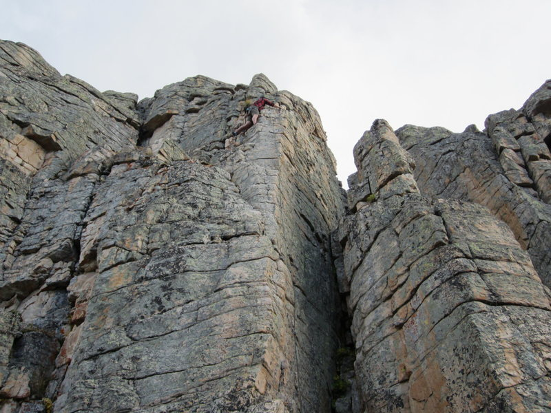 Rock Climbing Photo: The Uintas Utah