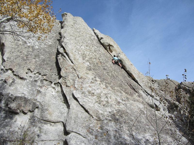 Rock Climbing Photo: City Of Rocks Idaho