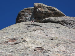 Rock Climbing Photo: Jacob's Thumb, City of Rocks Idaho