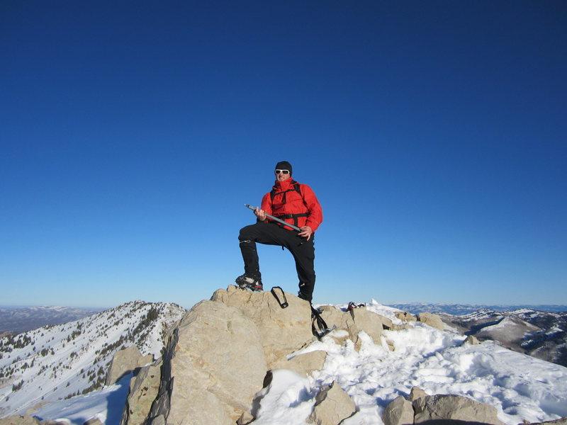 Rock Climbing Photo: Mount Raymond Utah