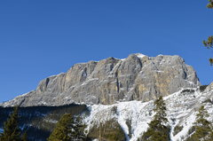 Rock Climbing Photo: The East End of Rundle (EEOR) on Mt. Rundle above ...