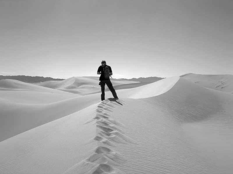 Rock Climbing Photo: The Cadiz sand dunes are worth a visit if in the a...