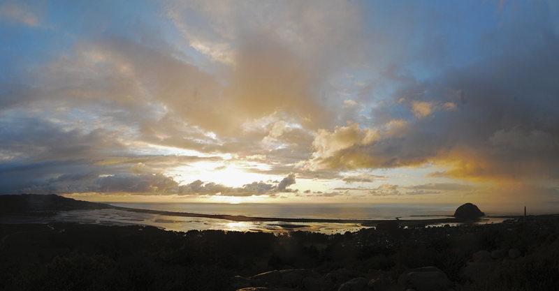 Morro Bay winter clouds