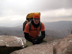 Rock Climbing Photo: panther traverse