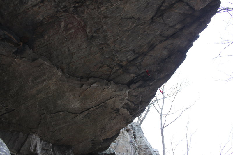Rock Climbing Photo: Clown Attack