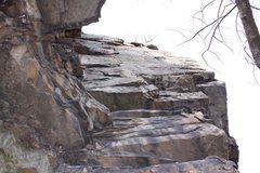 Rock Climbing Photo: Happiness is Slavery. Taken in February