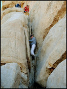 Rock Climbing Photo: Chuck Clance sending to the Space Station. Photo b...