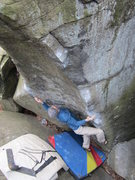 Rock Climbing Photo: Cobra. V5. Governor Stable