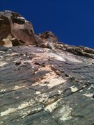 Rock Climbing Photo: Alex Honnold Free Soloing Jubilant Song at the roo...