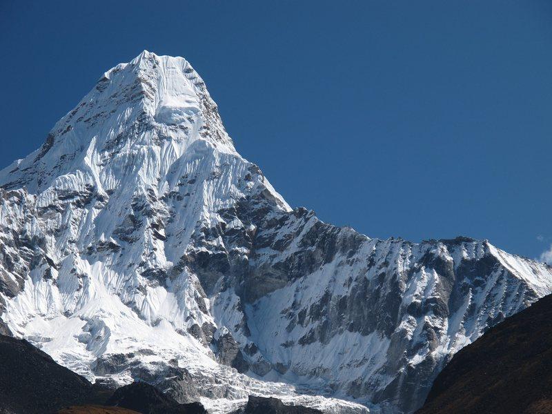 Ama Dablam and the classic SW ridge