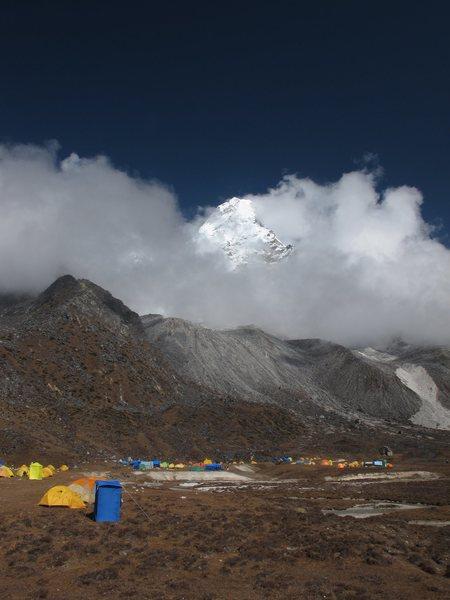 Rock Climbing Photo: Ama Dablam Base Camp