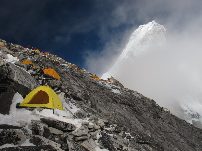Rock Climbing Photo: Ama Dablam Camp I