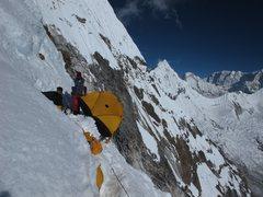 Rock Climbing Photo: Ama Dablam Camp II