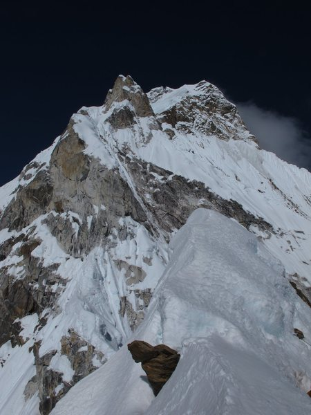 Rock Climbing Photo: View from Camp II
