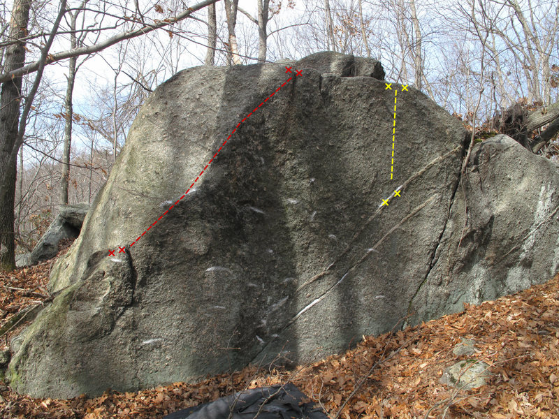 Rock Climbing Photo: Pictured in Red