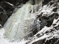 Rock Climbing Photo: Hot Shot February 2011. A bit stepped out but othe...