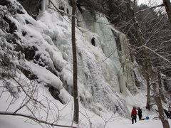 Rock Climbing Photo: Very popular practice area