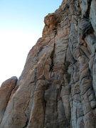 Rock Climbing Photo: Showing the extension. Bryan climbing.