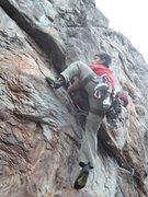 Rock Climbing Photo: Rawlhide Wall  Arborsit (5.11)  Crowders Mountain ...