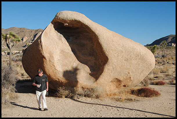 Rock Climbing Photo: Legend, Chuck Clance and The Womb Boulder. Photo b...